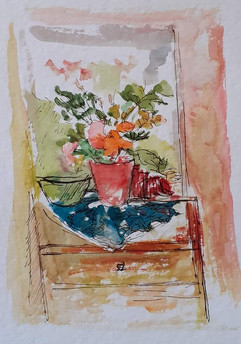 Still life with flowers II