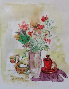 Still life with flowers I