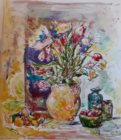 Still life with flowers III