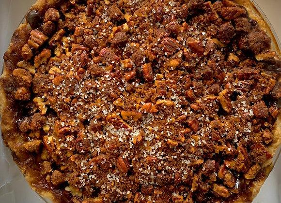 Apple Pecan Streusel Pie