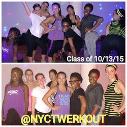 nyctwerk__#classpass #classpassnyc #twerkoutwo