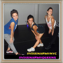 First Vixen Workout Class held in Queens NYC,  yesterday._With Certified Vixen instructor nikki