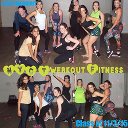 Class photo from our 6pm class yesterday. Thanks you all for coming out. It was awesome and amazing,