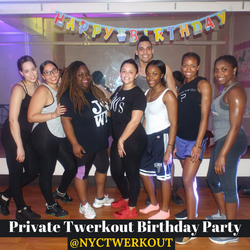 Twerkout Private Party - NYC