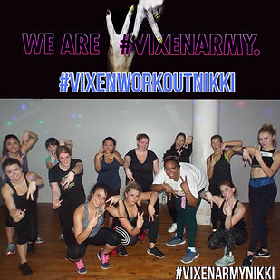 Vixen Workout New York City Class Photo #vixenarmy