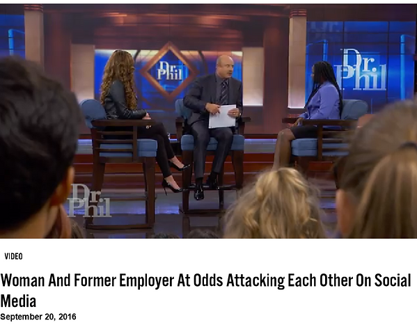 Vixen Workout Janet Jones on Dr. Phil Show For Slander, Stalking and Cyber Bullying a Customer She scammed out of $5k