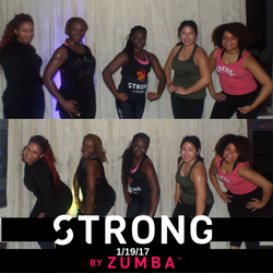 Strong by Zumba Class Pic 1_19_17
