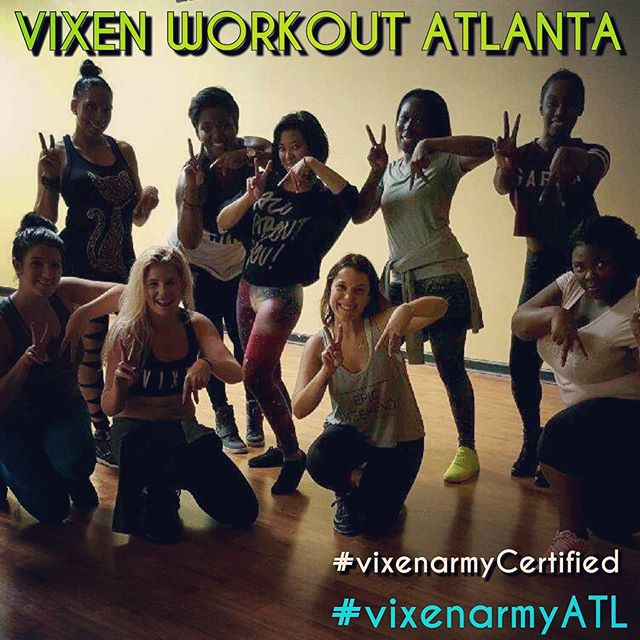 Who do you know Lives in Atlanta, TAG them so we can share information about a turned up fitness cla