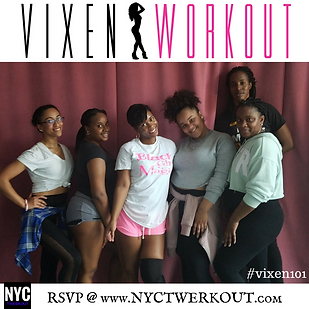 Vixen Workout New York City Class Photo