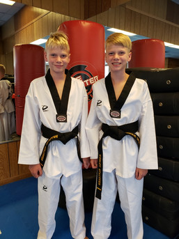 Black Belt Siblings