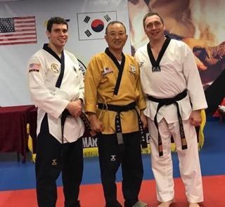 Sixth-Degree Black Belt test