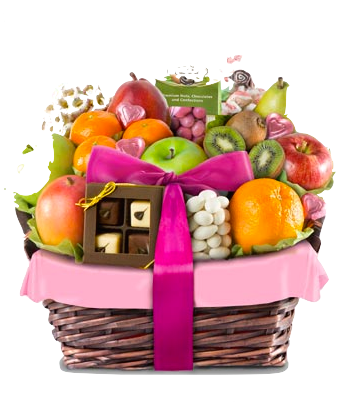 Frutas y chocolates