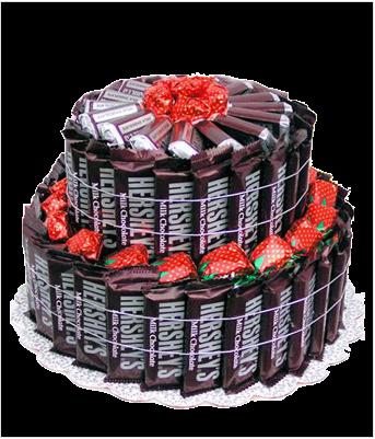 Pastel Cumpleaños Chocolates