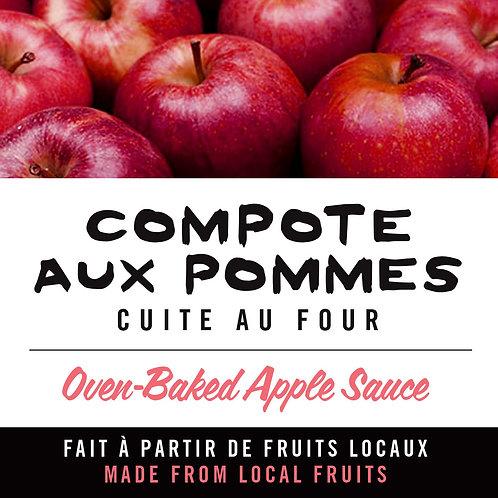 Compote aux pommes - Apple sauce