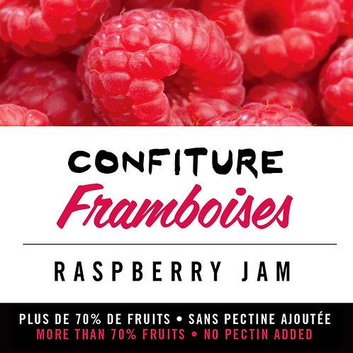 Confiture de framboises - Raspberry Jam