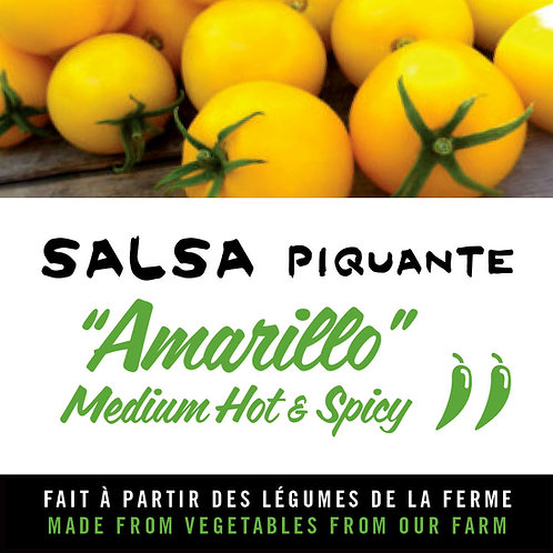 """Salsa piquante """"Amarillo"""" - Medium hot and spicy salsa"""