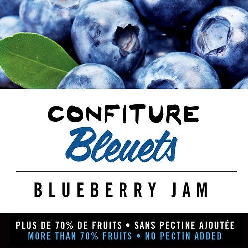 Confiture de bleuets - Blueberry Jam