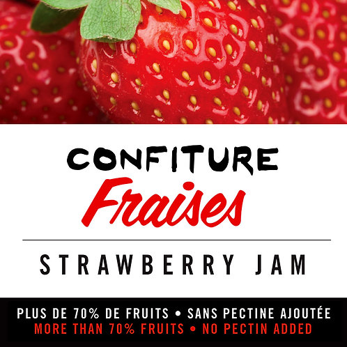 Confiture de fraises - Strawberry Jam
