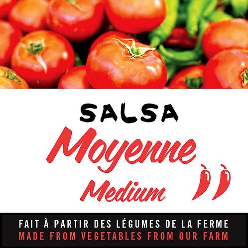 Salsa moyenne - Medium salsa
