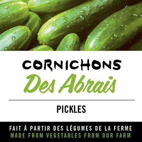 """Cornichons """"Des Abrais"""" - Pickles"""