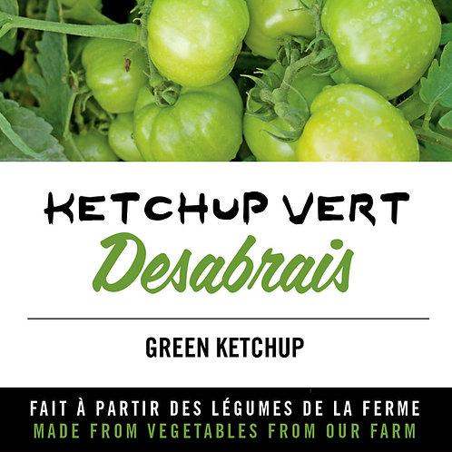 "Ketchup vert ""Desabrais"" - Green ketchup"