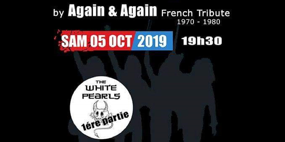 CONCERT White Pearls +Tribute Status Quo by Again&Again