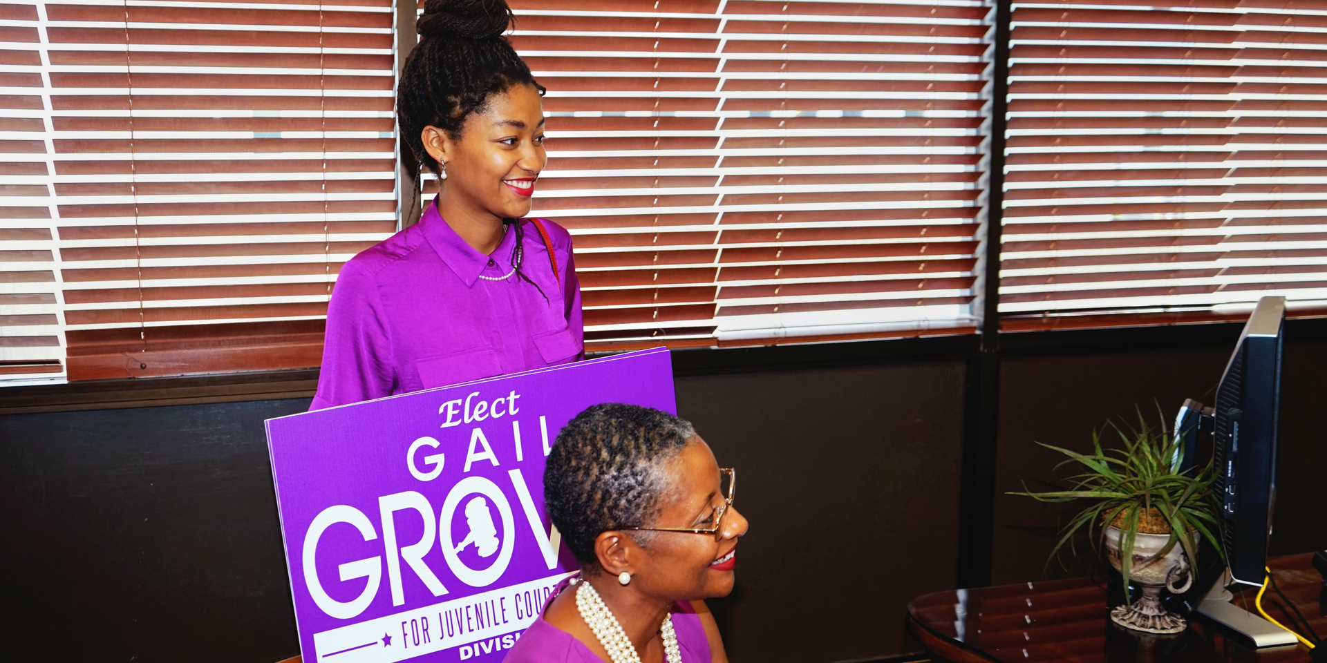 Gail Grover Qualifies for Candidacy