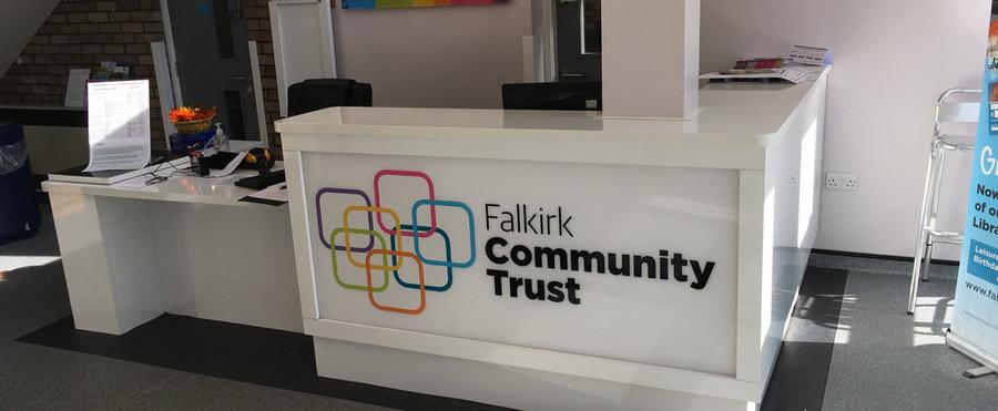 Falkirk community trust.