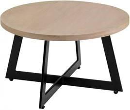 Cross base coffee table.