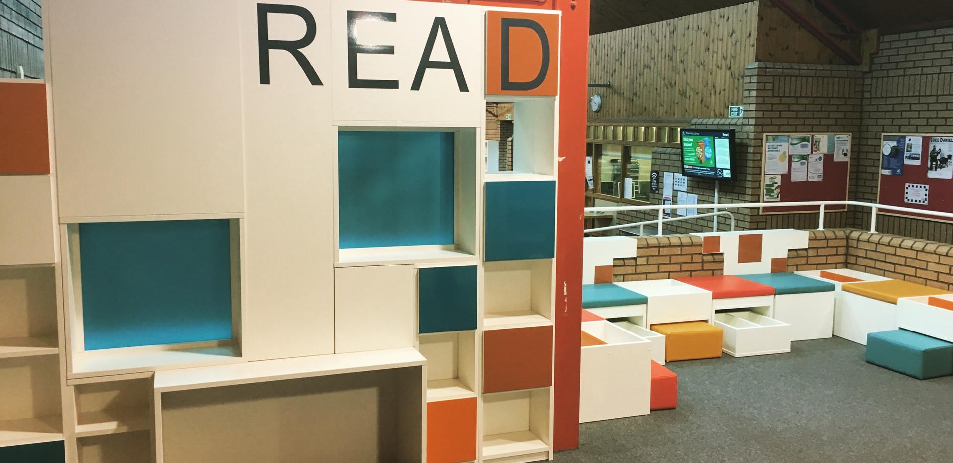 Kilwinning library.
