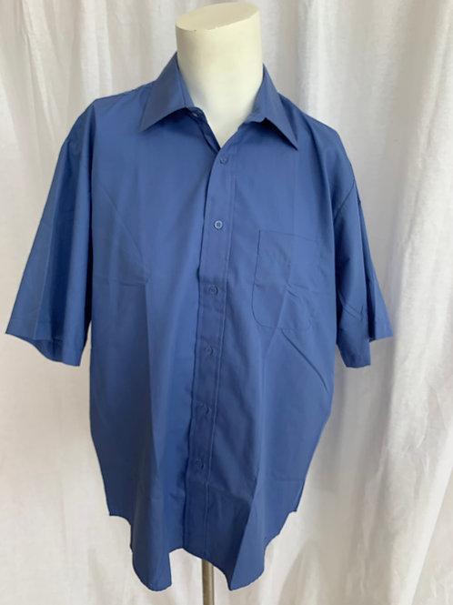 Unisex Periwinkle Blue Uniform Shirt - Large