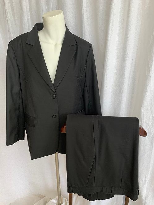 Women's Black Suit - Size 22