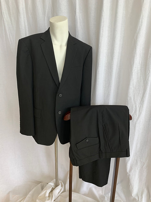 Men's Black Suit - Size 40