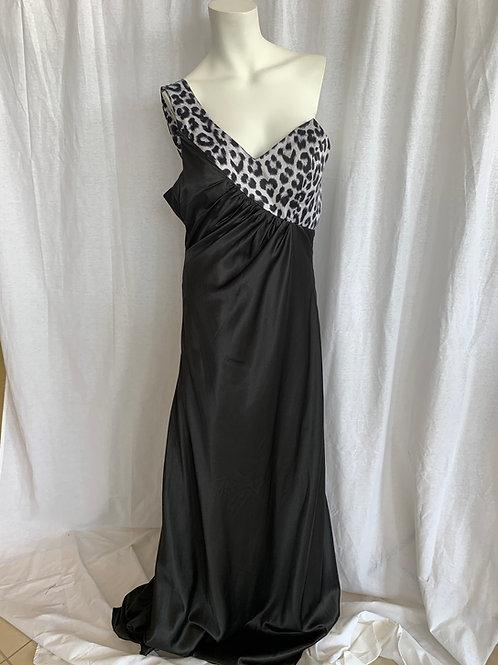 Women's Silver Dress - Faviana - Size 8