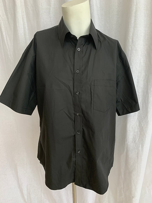 Men's Black Shirt Short Sleeve - Small