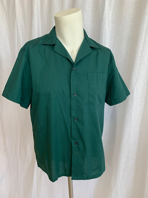 Unisex  Forest Green Shirt - Small