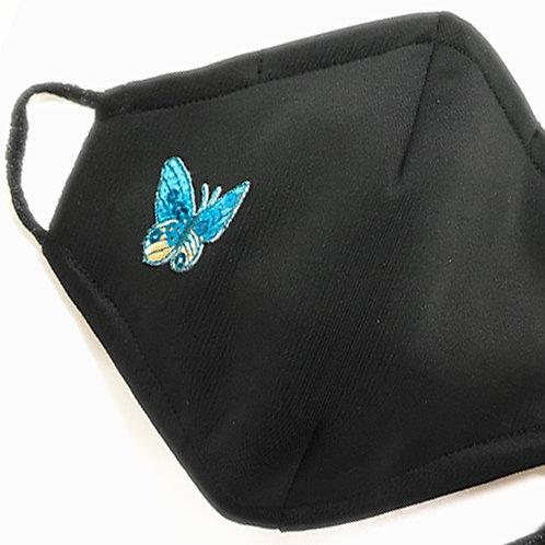 Butterfly Blue Mask