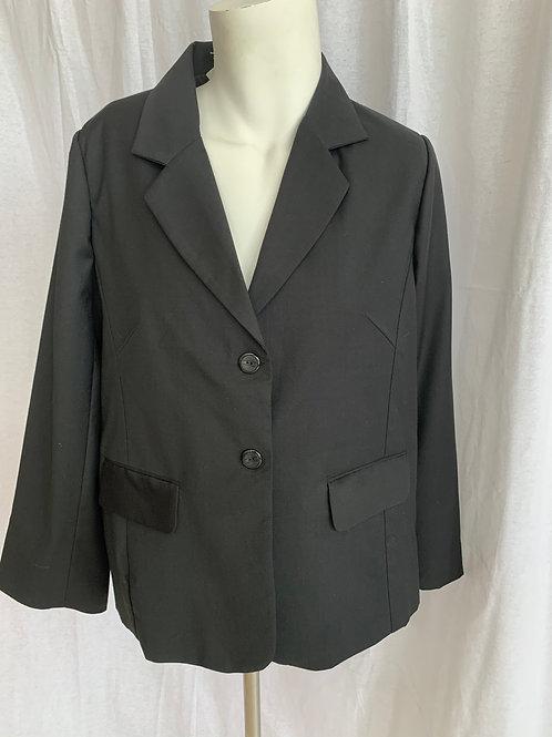 Women's Black Blazer - Size 20