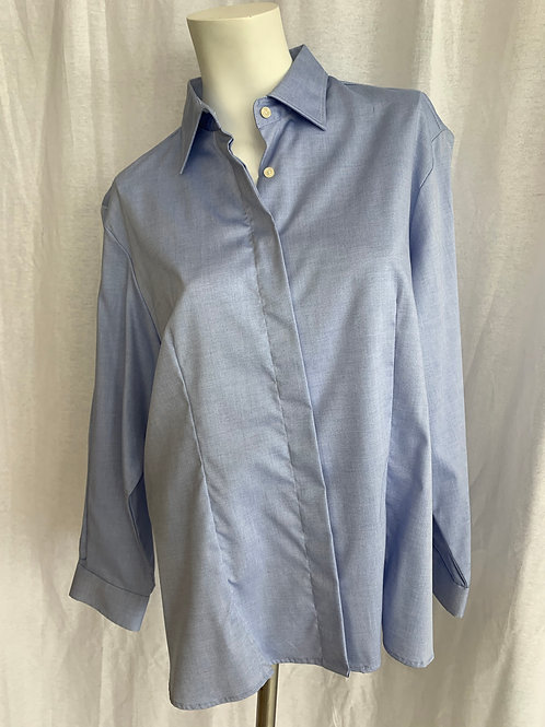 Women's Light Blue Blouse - Large