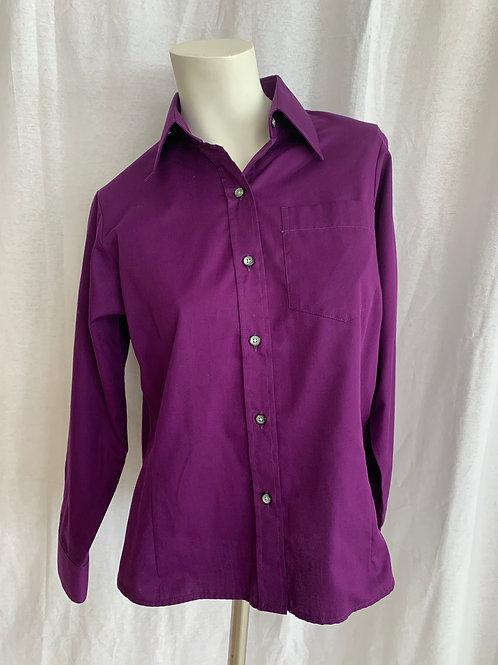 Women's Dark Purple Blouse - XL Size