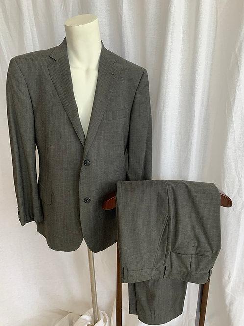Men's Dark Grey Suit - Size 46
