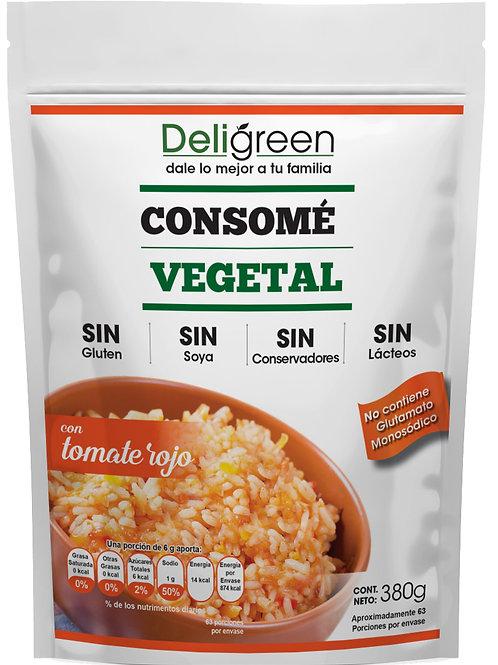 Consomé Vegetal con Tomate Rojo 380 g
