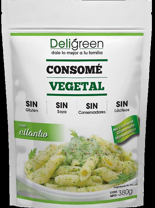 Consomé Vegetal con Cilantro 380g