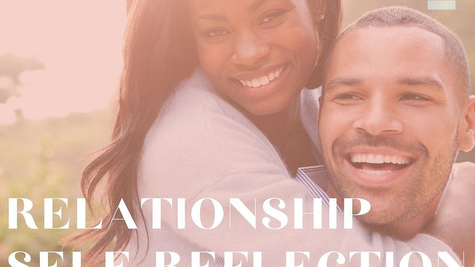 Relationship Self-Reflection Worksheet