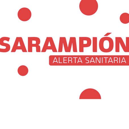 Sarampión: Piden que se cumpla la vacunación