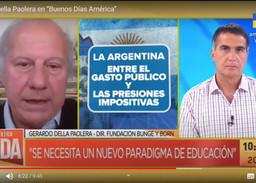 """Gerardo della Paolera en """"Buenos Días América"""""""
