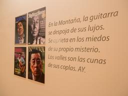 Muestra Homenaje a Atahualpa Yupanqui en el CCK