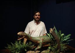 Identificaron a un abuelo de los dinosaurios, el Teleocrater rhodinus