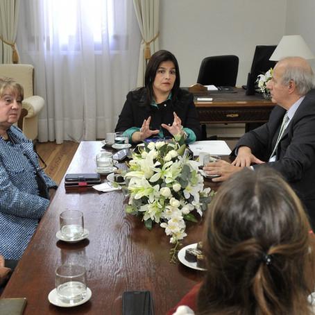 El gobierno de Entre Ríos y la Fundación Bunge y Born trabajan en capacitación para docentes rurales