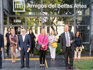 Convenio de colaboración con Amigos del Bellas Artes
